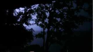 Severe Thunder Storm Heavy Rain Natural Sleeping Sounds Lightning Canon 5d Mark II EF 16-35mm f/2.8L