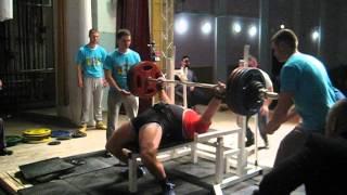 Анатолий Шишкевич - жим 222,5 кг