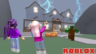 CAN WE ESCAPE THE HAUNTED MANSION?! 👻 / Roblox: Trick or Treat Obby