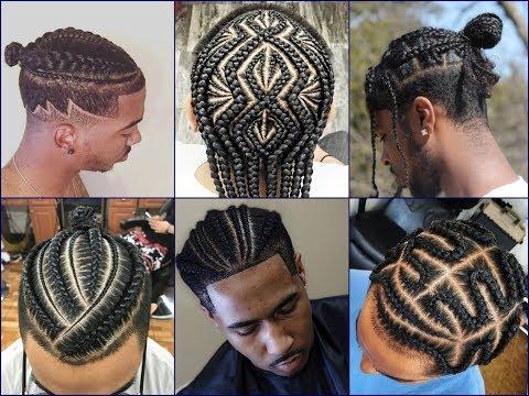 Top-30 Cool African American Men's Braids Hairstyles 2018