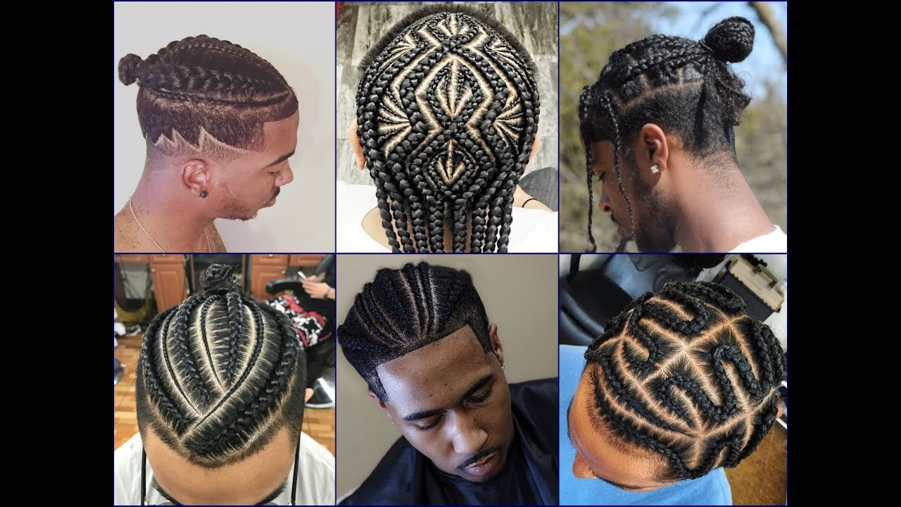 Top 30 Cool African American Mens Braids Hairstyles 2018 Youtube