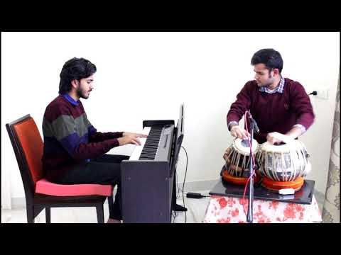 Aaj Se Teri - Arijit Singh (Padman) Instrumental - Piano/Tabla Cover