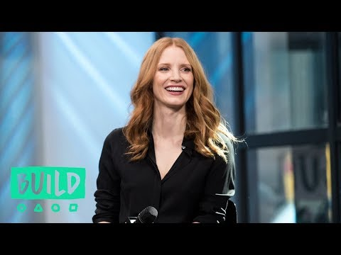 "Jessica Chastain Talks About Working With Elephants In ""The Zookeeper's Wife"""