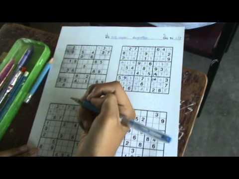 แข่ง Sudoku โนนสูงศรีธานี