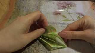 【slow Version】origami Christmas Tree