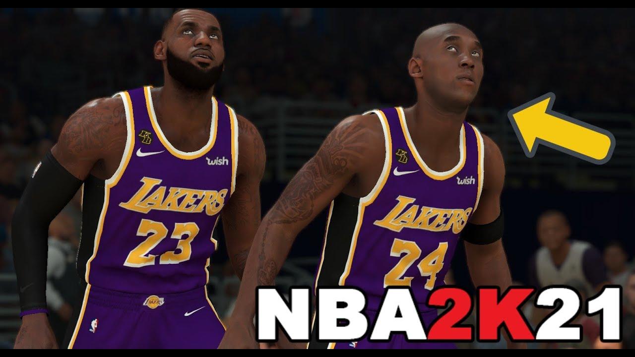 NBA 2K21 - How to Add Kobe Bryant to 2020/21 Lakers Team