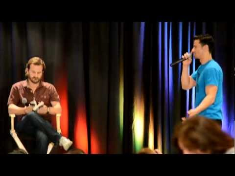 Richard Speight Jr. and Matt Cohen act out 50 Shades of Grey