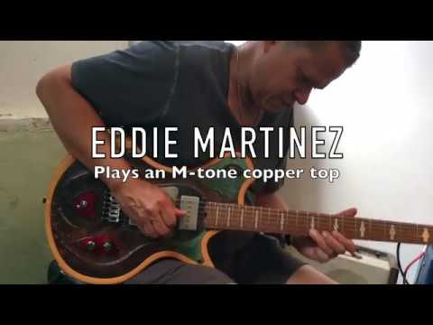 M-tone Guitars  - Flight Risk 11  - Eddie Martinez