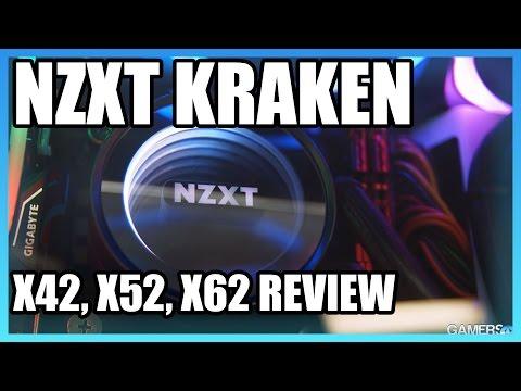 NZXT Kraken X52, X62, & X42 Review Vs. Corsair H100iV2
