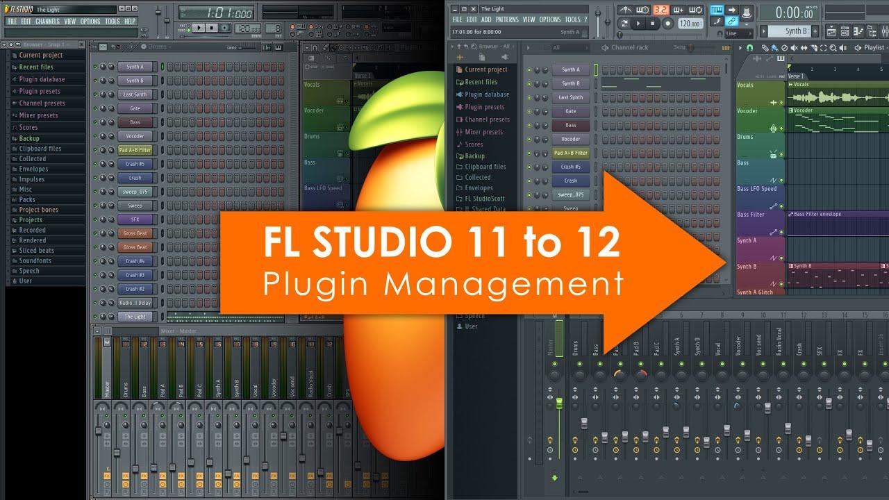 FL Studio 11 to 12 | VST Plugin Management
