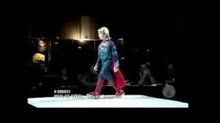 Childs Deluxe Superman Costume