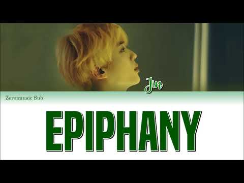 BTS (방탄소년단) Jin (진) - Intro EPIPHANY - 가사 (Sub español+Eng Sub+Roma+Han+Lyrics+Colorcodedlyrics)