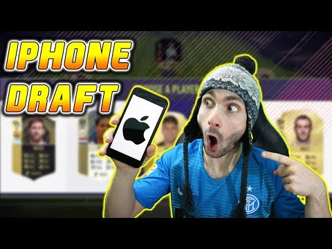 IPHONE MI BIRA DRAFT!! FIFA 18