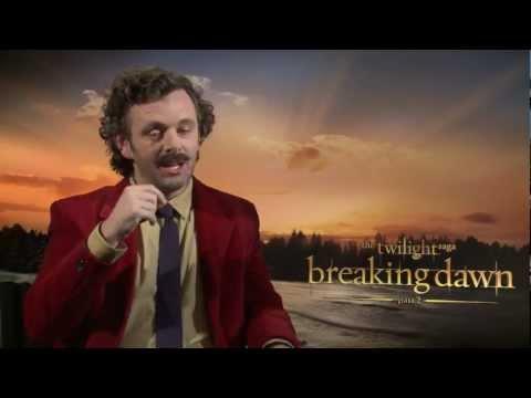 Michael Sheen Talks 'Breaking Dawn' Twist Ending & Aro's Laugh - Breaking Dawn Part 2 Junket