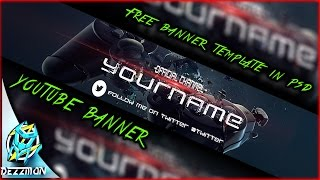 CRUSHED GAMING BANNER  TAMPLATE - SPEED ART