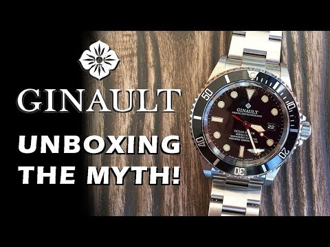 Ginault Ocean Rover 181270GSLN Automatic Diver Preview - Unboxing the Hype! - Perth WAtch Suppl #15