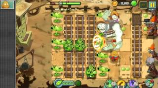 Wild West Day 8   Plants vs Zombie 2 Walkthrough