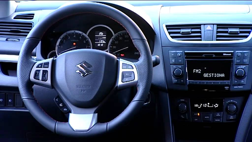 ▻ Interior of the 2012 Suzuki Swift Sport - YouTube