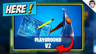PLAYGROUND V2 IS *HERE*! PLAYGROUND LTM MODE Season 5 RELEASE DATE & INFO! (Fortnite Battle Royale)