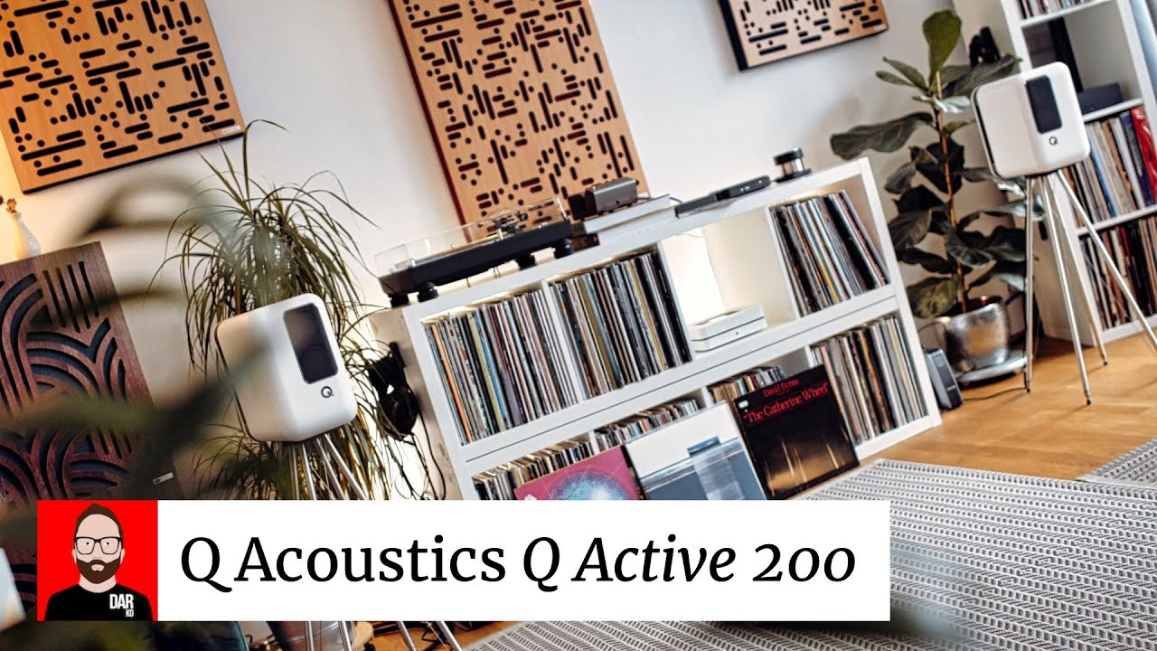 GOOD (but not great): the Q Acoustics Q Active 200 - YouTube