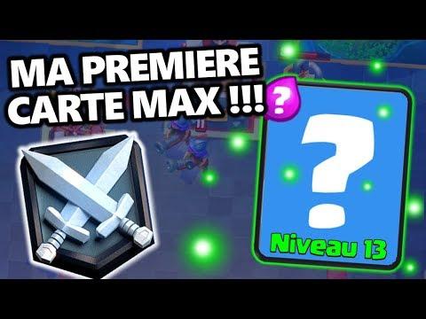 MA PREMIERE CARTE MAX || Rush Ladder 4400++ || DECK GOLEM