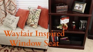 Inspiration - How To Create A Wayfair Window Seat