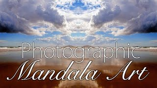 Photographic Mirrored Mandala Art with Yoga Relaxation Music