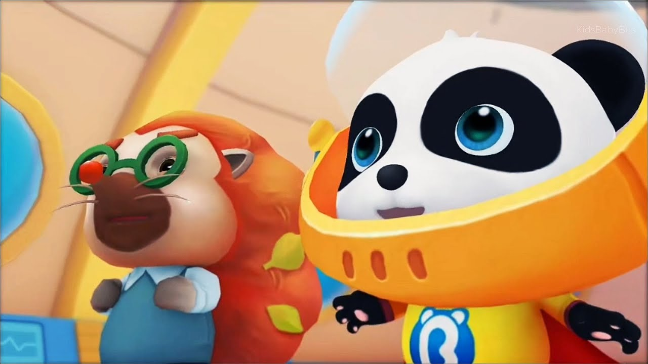 Little Panda's Rescue Mission | Underwater And Explosion | Babybus Gameplay Video