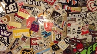 My Sticker Collection (skate Stickers)