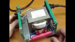 сварочный аппарат своими руками(Видео как можно сделать в домашних условиях полноценный сварочный аппарат для дома, очень быстро просто..., 2014-05-14T13:13:29.000Z)