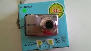 FUJIFILM finepix 'AX650' Unboxing and overview!!!