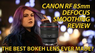 Canon RF 85mm f/1.2 DS lens review – is this the best bokeh ever?