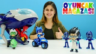 PJ Maskeliler'in oyuncak uçağı! Ayşe'nin oyuncak mağazası.