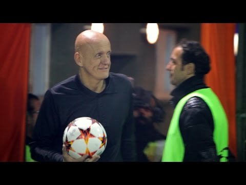A Priceless Football Surprise with Collina
