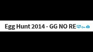 2014 ROBLOX Egg Hunt - GG NO RE