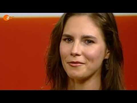"""Amanda Knox bei """"Markus Lanz"""" - ZDF (1/5)"""