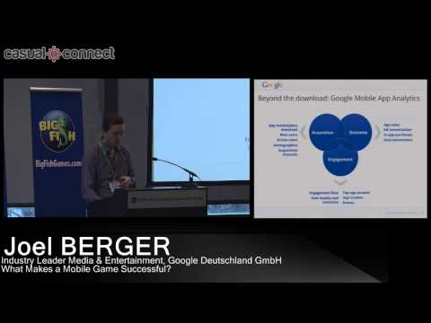 What Makes A Mobile Game Successful? | Joel BERGER