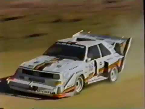Audi at Pikes Peak 1985 through 1987