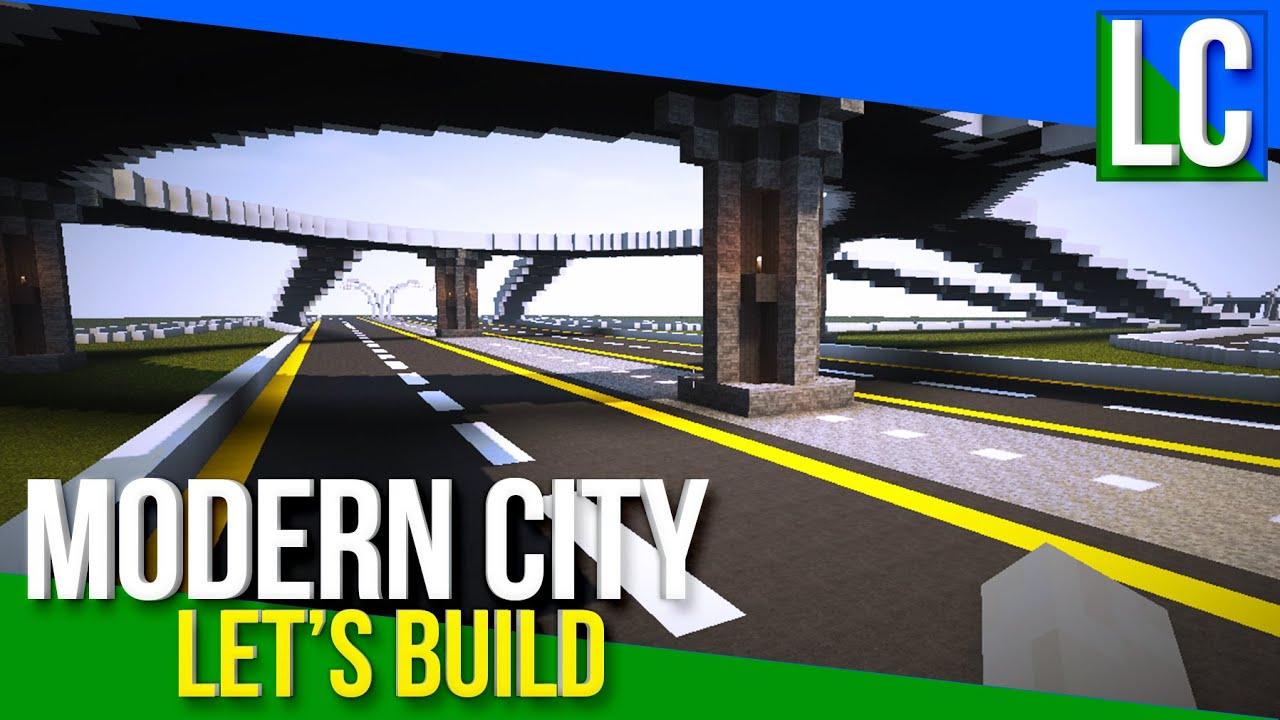 Minecraft Modern City Build