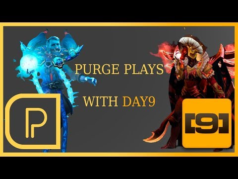 Purge Plays Lich w/ Day9