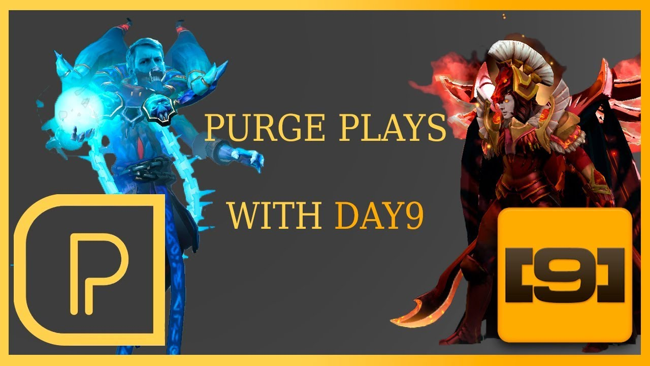 Purge Plays Lich W Day9 Youtube