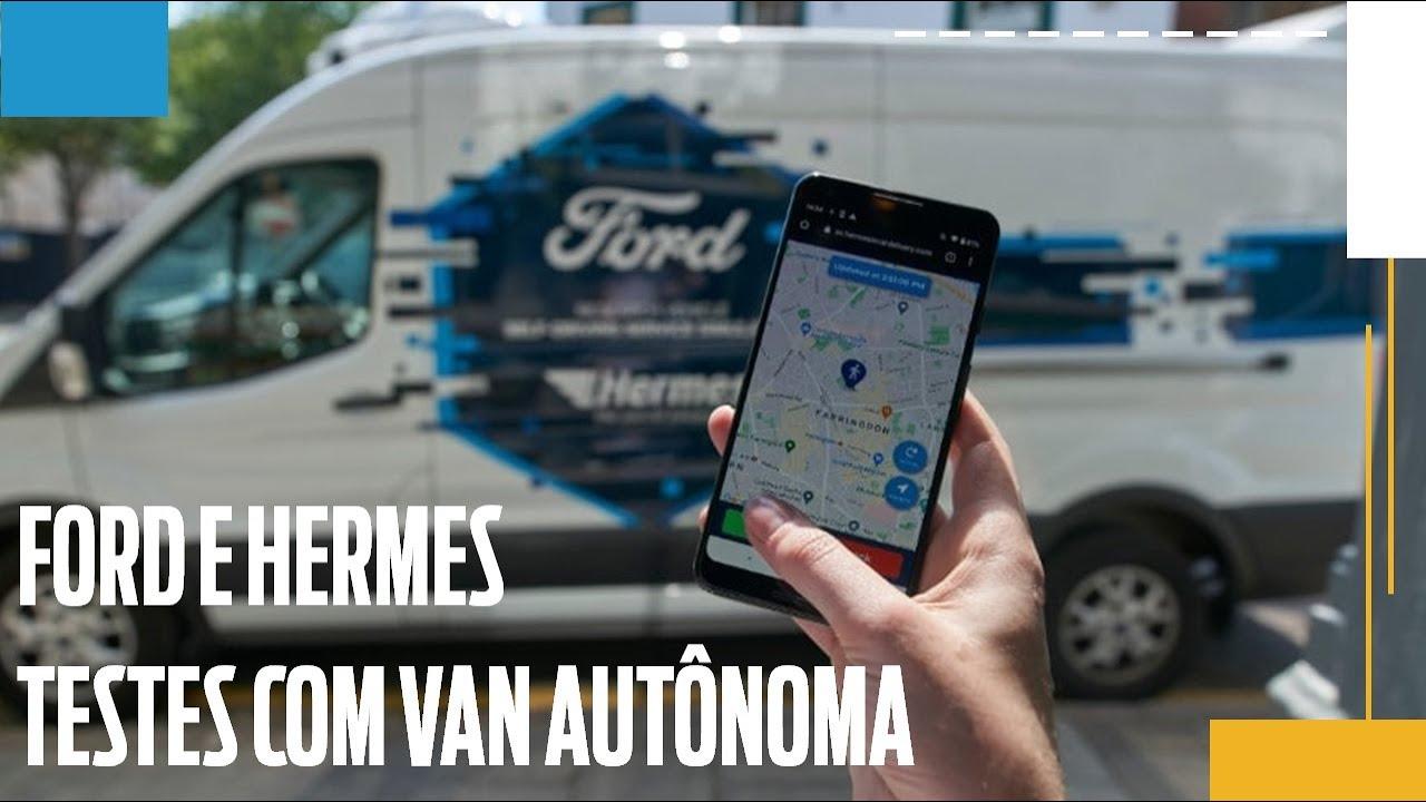 Ford pesquisa o uso de vans autônomas na Europa