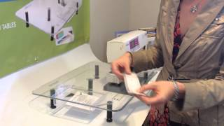 How To Install A Centering Ruler Onto A Sew Steady Table