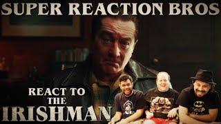 SRB Reacts to The Irishman | Official Netflix Trailer