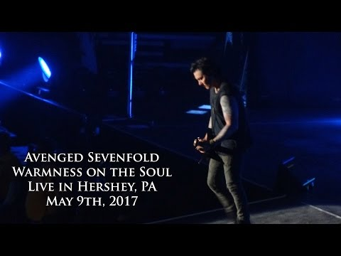 Avenged Sevenfold - Warmness on the Soul (Live in Hershey 5/9/17)