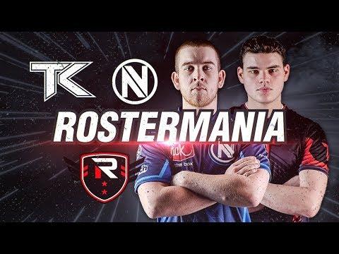 ROSTERMANIA UPDATE #1 (nV, TK, Rise)