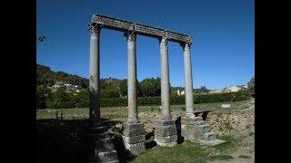 7- Les colonnes Romaines de Riez (+ conclusion du séjour)