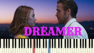 La La Land OST - Dreamer Trailer - Piano Cover