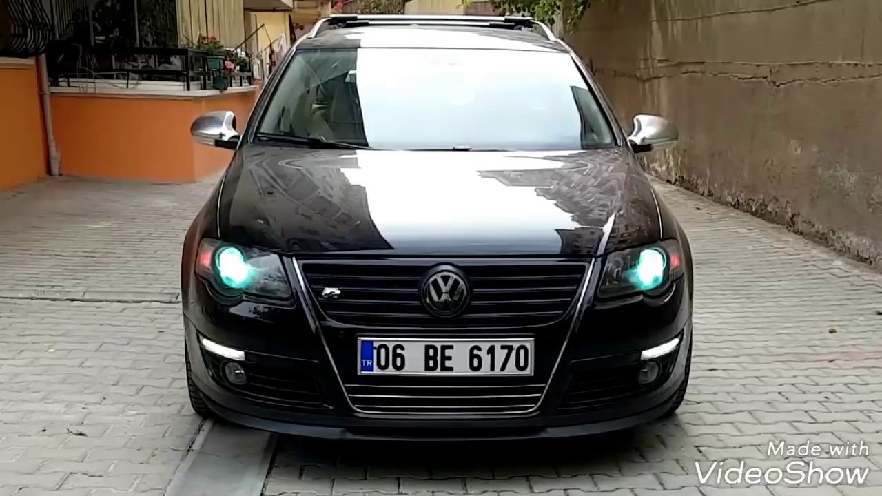 Passat B6 Led Drl G 252 Nd 252 Z Farı Youtube