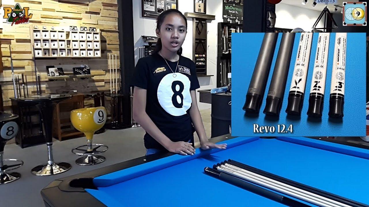 Predator Shafts Deflection Test by Phaa Hmaunpao at Thailand Pool Tables